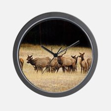 Elk 9x12 Wall Clock