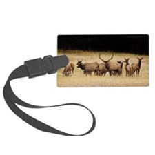 Elk 9x12 Luggage Tag