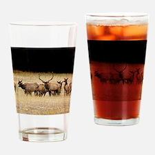 Elk 9x12 Drinking Glass
