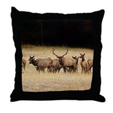 Elk 9x12 Throw Pillow