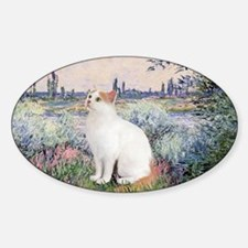 By the Seine - Turkish Van cat Decal