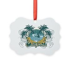 Surfcali Ornament