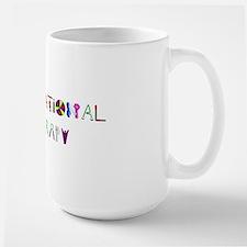 ot straight 2 Large Mug