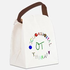 OT3 green Canvas Lunch Bag