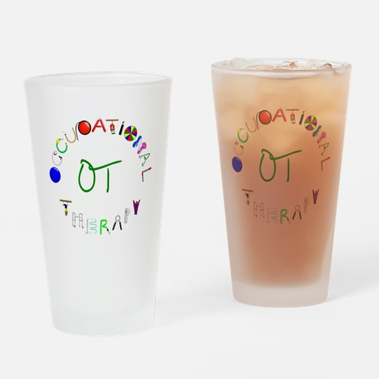 OT3 green Drinking Glass