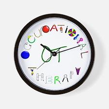 OT3 green Wall Clock