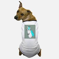 Hipster Unicorn Funny Humor Kawaii Dog T-Shirt