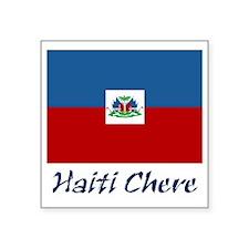 "2-haiti Square Sticker 3"" x 3"""