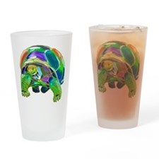 Tortoise1 Drinking Glass
