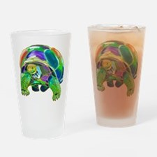 Tortoise1 Drinking Glass
