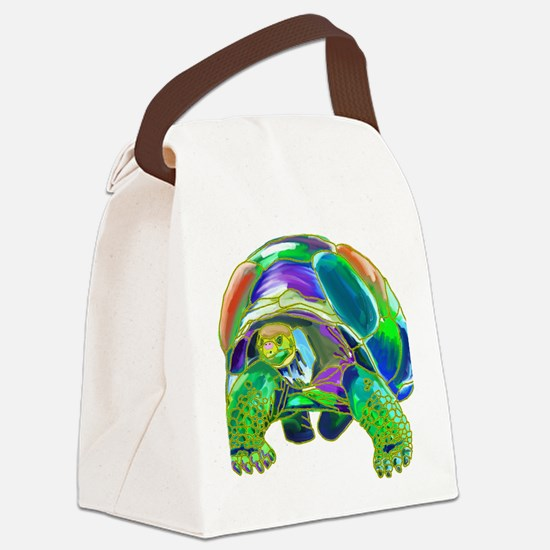 Tortoise1 Canvas Lunch Bag