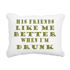 FriendsLikeMeHis Rectangular Canvas Pillow