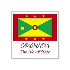 """2-grenada Square Sticker 3"""" x 3"""""""