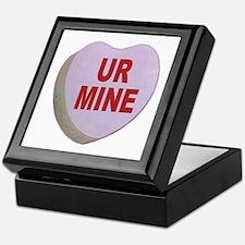You Are Mine Valentine Candy Heart Keepsake Box