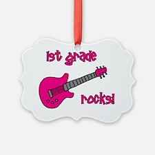 1stgraderocks_pink Ornament
