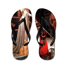 Accolade - Red Abyssinian Flip Flops