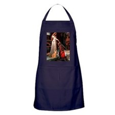 Accolade - Red Abyssinian Apron (dark)