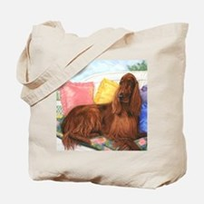 Irish Setter Dog Tote Bag