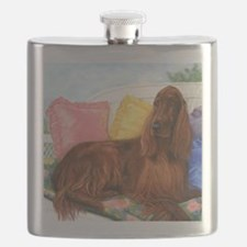 Irish Setter Dog Flask