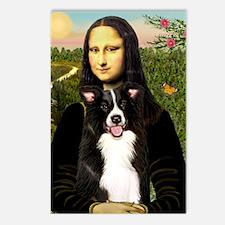 MP-Mona Lisa - Border C - Postcards (Package of 8)