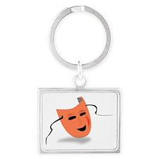 Theatre Mask Keychains