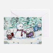 Christmas Card 1 12x8 Greeting Card