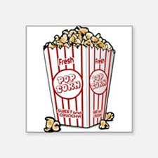 Movie Popcorn Sticker
