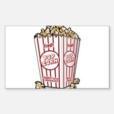 Movie Popcorn Decal