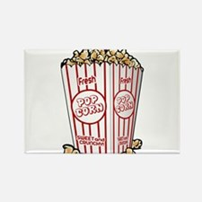 Movie Popcorn Magnets