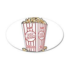 Movie Popcorn Wall Decal
