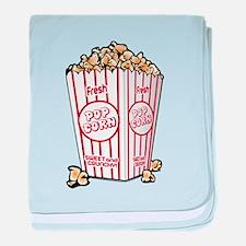 Movie Popcorn baby blanket