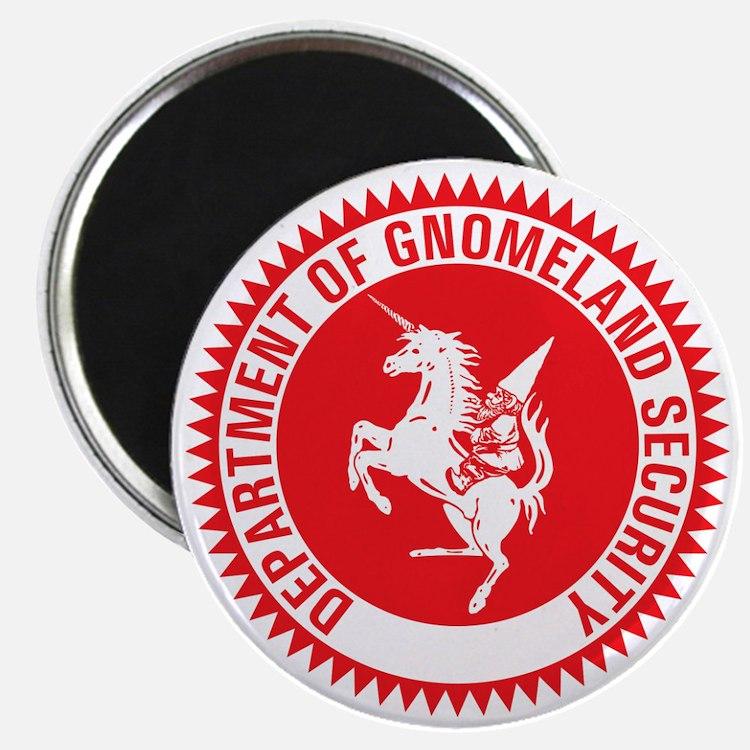 GNOMELAND SECURITY Magnet