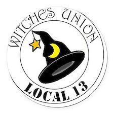 2-witchesunion Round Car Magnet