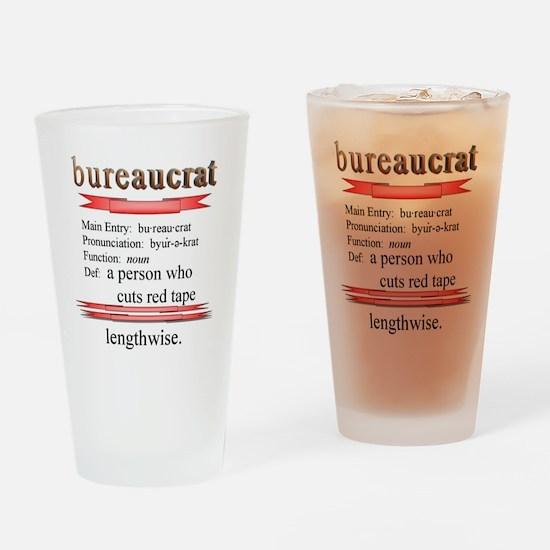 Bureaucrat Drinking Glass