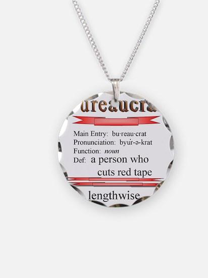 Bureaucrat Necklace