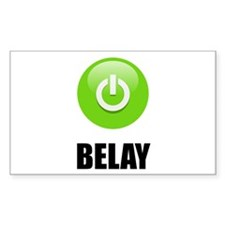 On Belay Decal