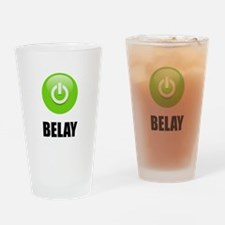 On Belay Drinking Glass