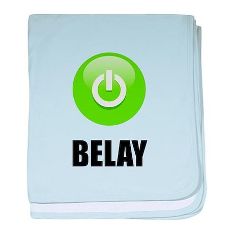 On Belay baby blanket