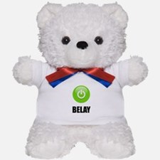On Belay Teddy Bear