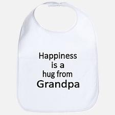 Happiness is a hug from Grandpa Bib