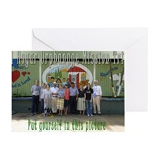 El Hogar Greeting Card