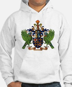 Coat_of_arms_of_saint_lucia Hoodie