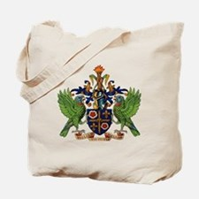 Coat_of_arms_of_saint_lucia Tote Bag