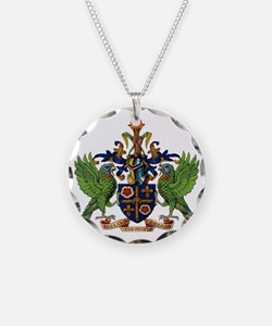 Coat_of_arms_of_saint_lucia Necklace