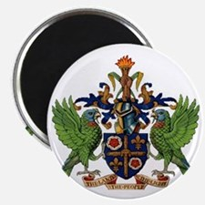 Coat_of_arms_of_saint_lucia Magnet