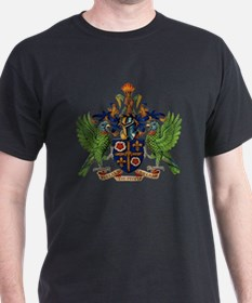Coat_of_arms_of_saint_lucia T-Shirt