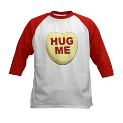 Hug Me Valentine Candy Heart (Front) Tee