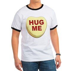Hug Me Valentine Candy Heart (Front) T