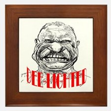 ART TR is Dee-lighted 2 Framed Tile
