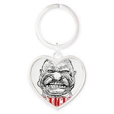 ART TR is Dee-lighted 2 Heart Keychain